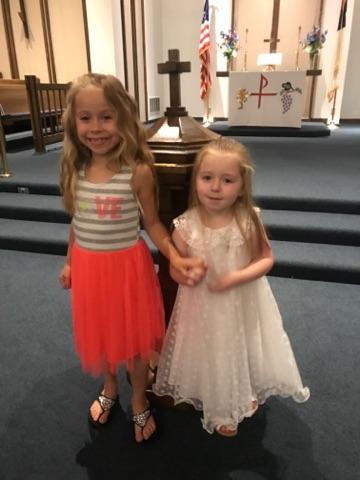 Brookelyn after baptism