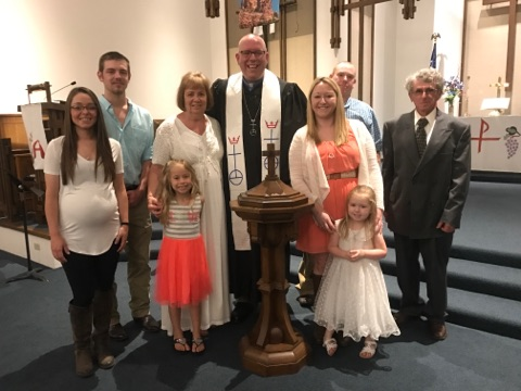 Brookelyn's baptism
