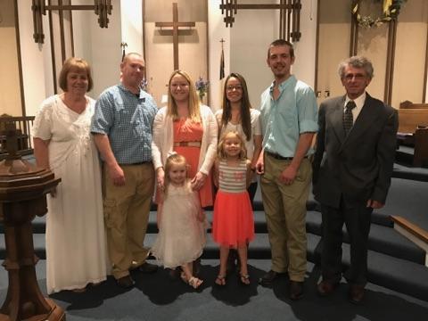 Grabert baptism
