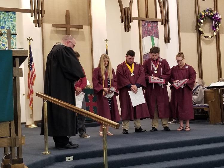 Graduation 2018 at Trinity 1