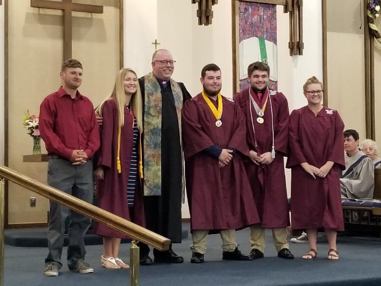 Graduation 2018 at Trinity 2