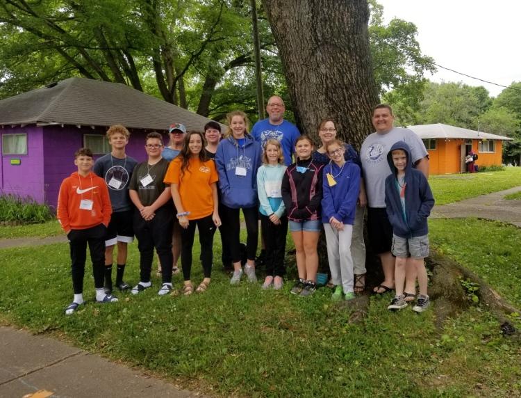 Camp Merom 2019 students